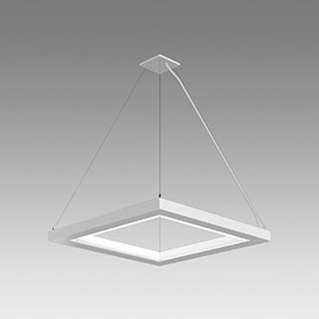 Sculpt Sidestep Product Pendant 2x2 Corner In AP Cable Single Canopy Grey Background THUMB